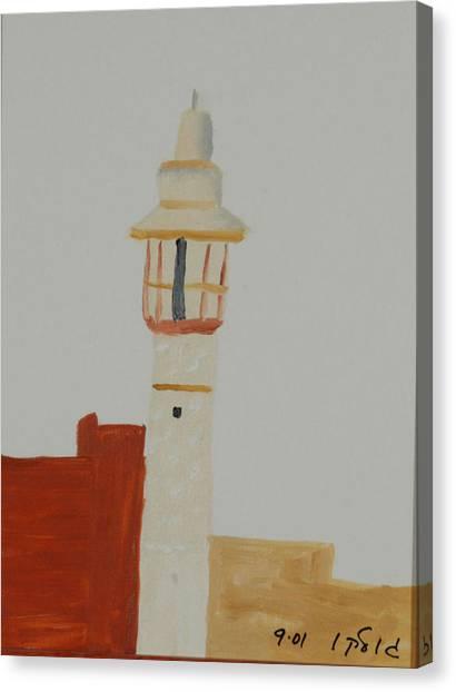 Mosque Canvas Print by Harris Gulko