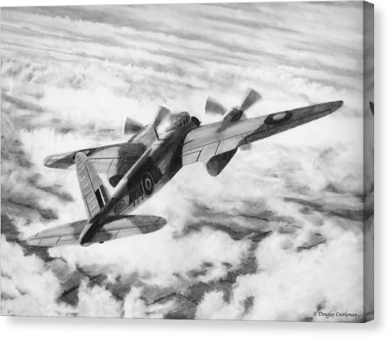 Mosquito Fighter Bomber Canvas Print
