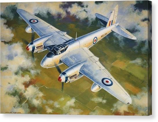 'mosquito Survey Flight' Canvas Print