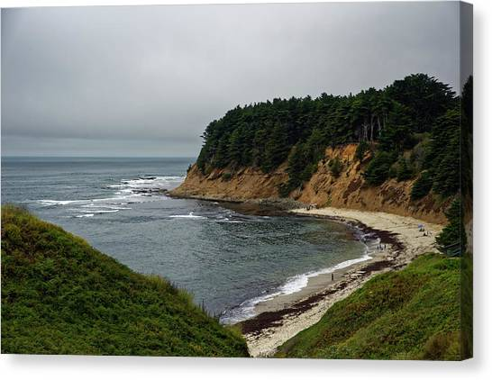 Moss Beach Canvas Print