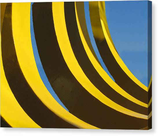 Canvas Print featuring the photograph Mostly Parabolic by Rick Locke