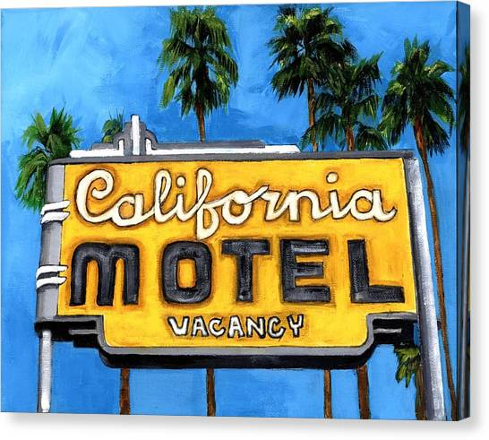 Motel California Canvas Print