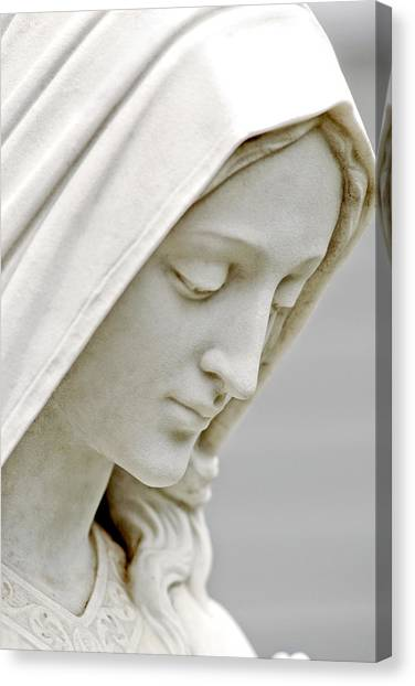 Mother Mary Comes To Me... Canvas Print