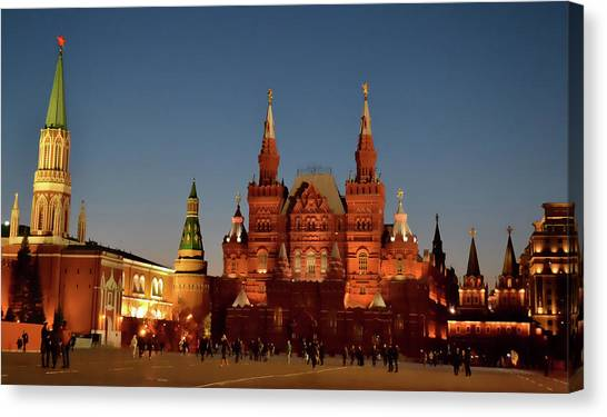 Mother Moscow Canvas Print by JAMART Photography
