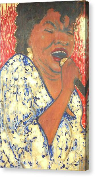 Mother Nature Koko Taylor Canvas Print