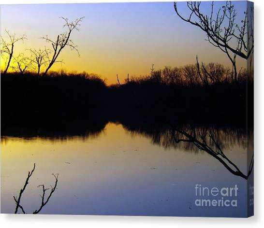 Mother Natures Glow Canvas Print