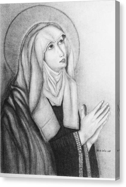 Mother Of Sorrows Version1 Canvas Print