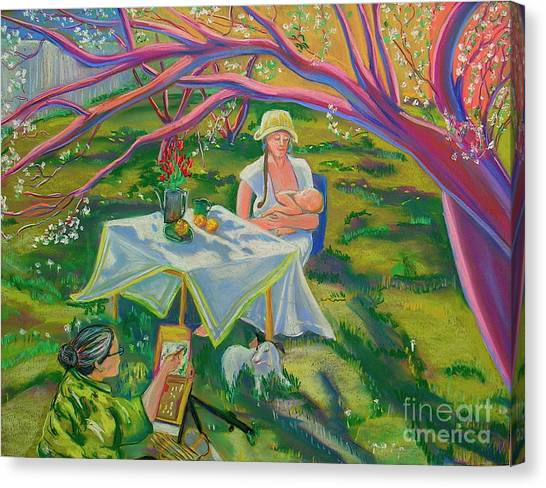 Mothers Day Canvas Print by George Chacon