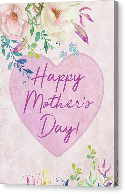 Mother's Day Wishes Canvas Print