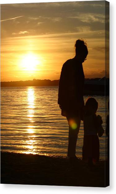 Mother's Guidance  Canvas Print by Matthew Kennedy