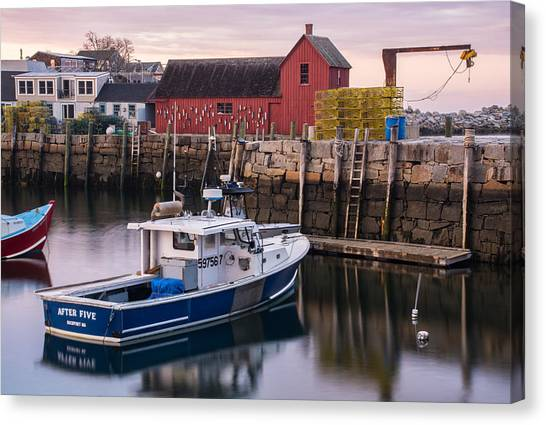 Motif No 1 Evening Canvas Print