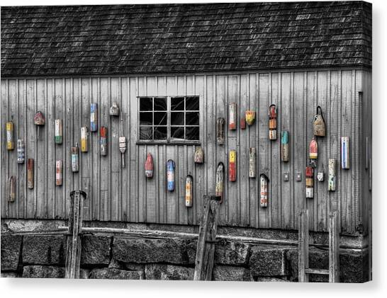 Motif No 1 - Fish Shack Canvas Print