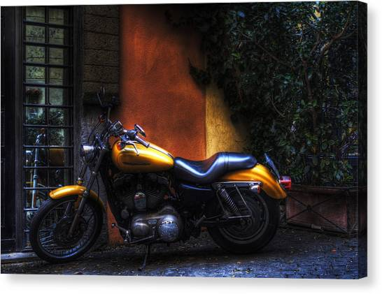 Moto 1 Canvas Print by Brian Thomson