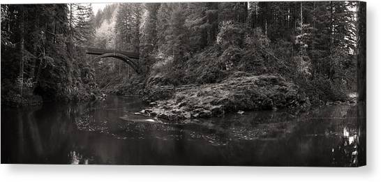 Moulton Bridge Canvas Print