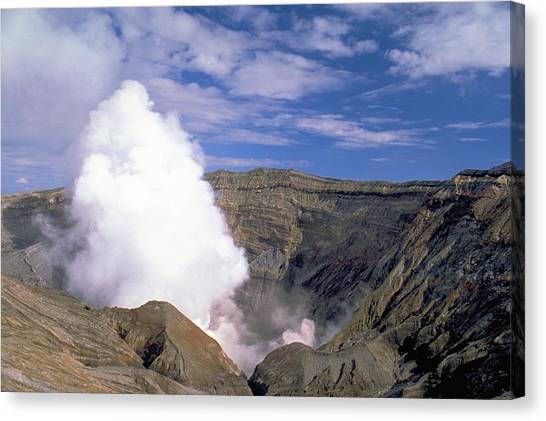 Mount Aso Canvas Print