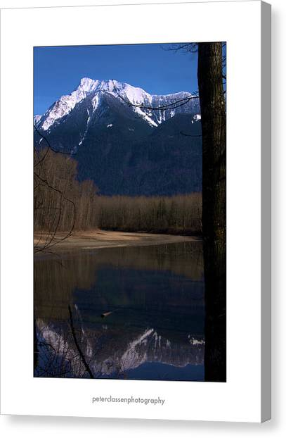 Mount Cheam2 Canvas Print by Peter Classen