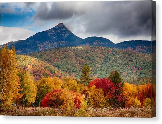 Mount Chocorua-one Canvas Print