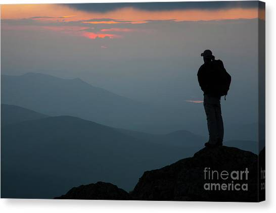 Mount Clay Sunset - White Mountains, New Hampshire Canvas Print