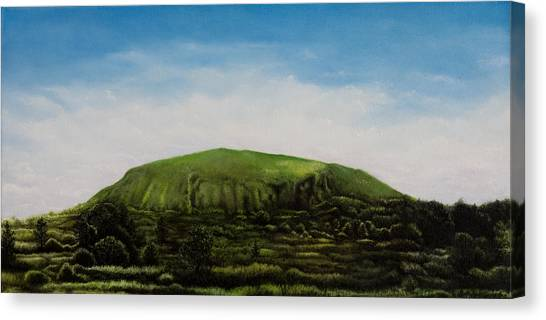 Mount Coolum Canvas Print by Joe Michelli