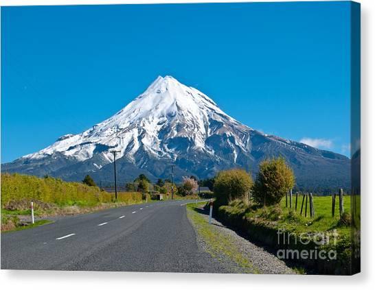 Mount Egmont Taranaki New Zealand Canvas Print