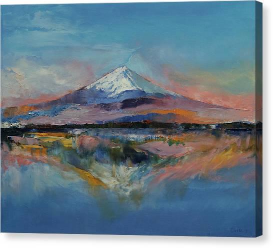 Mount Fuji Canvas Print - Mount Fuji by Michael Creese