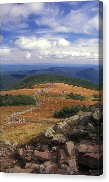 Mount Moosilauke Summit Canvas Print