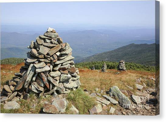Canvas Print featuring the photograph Mount Moosilauke - White Mountains New Hampshire by Erin Paul Donovan