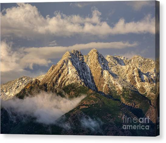 Mount Olympus Canvas Print