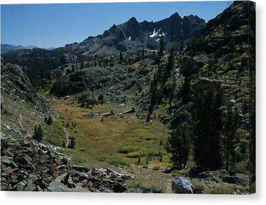 Mount Ritter And Meadow Canvas Print