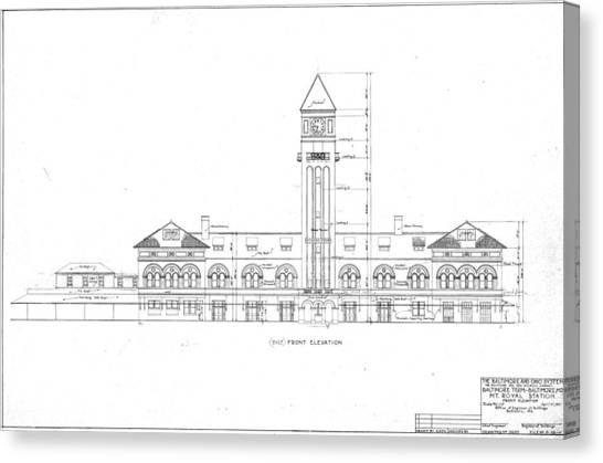 Mount Royal Station Canvas Print