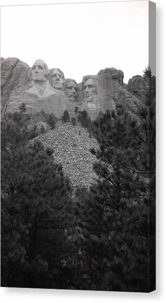 South Dakota Canvas Print - Mount Rushmore by Sarah Snyder
