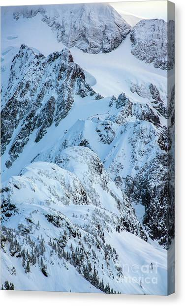Table Mountain Canvas Print - Mount Shuksan Details by Mike Reid