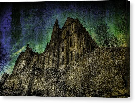 Mount St Michael Unreal Canvas Print