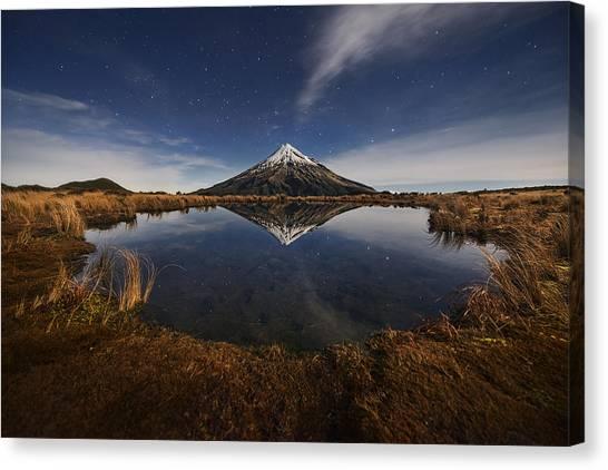 New Zealand Canvas Print - Mount Taranaki by Yan Zhang