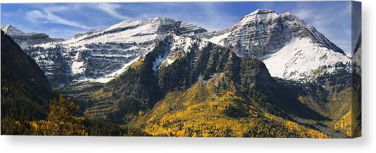 Mount Timpanogos Canvas Print