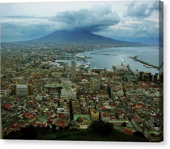 Mount Vesuvius Naples It Canvas Print