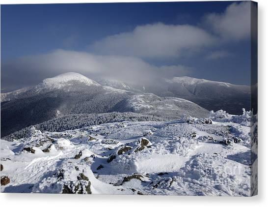 Mount Washington - New Hampshire Usa Canvas Print