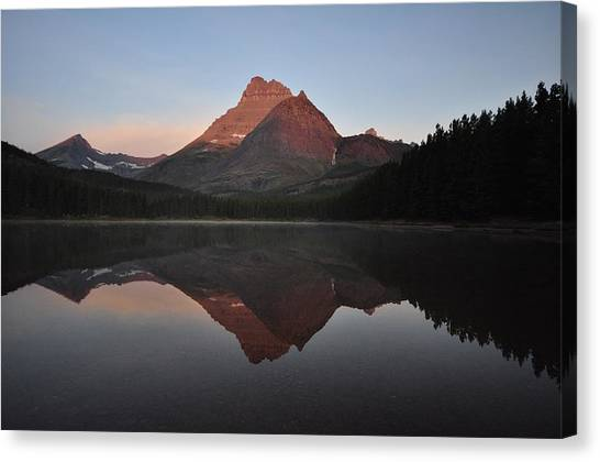Mount Wilbur, Glacier National Park Canvas Print