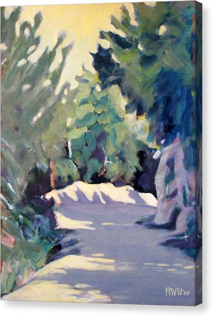 Mount Wilson Trail Canvas Print