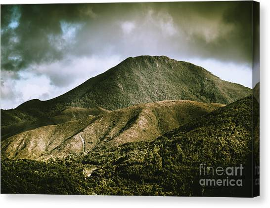 Mountain West Canvas Print - Mount Zeehan Tasmania by Jorgo Photography - Wall Art Gallery