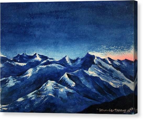 Mountain-4 Canvas Print