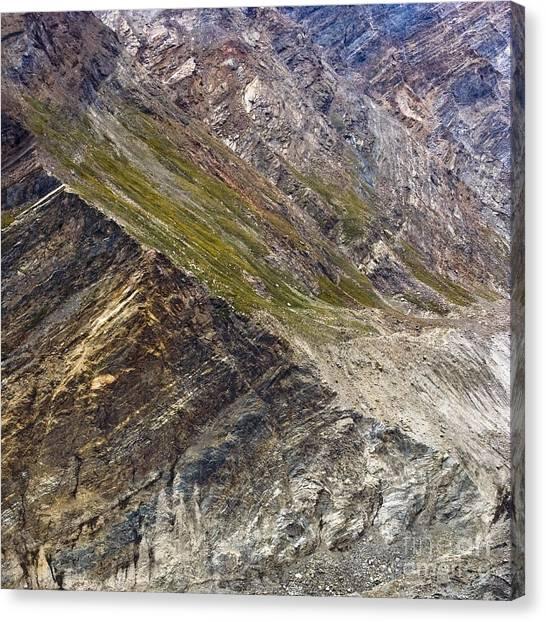 Mountain Abstract 1 Canvas Print