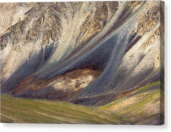 Mountain Abstract 2 Canvas Print
