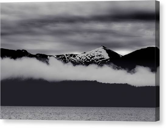 Mountain Contrast Canvas Print