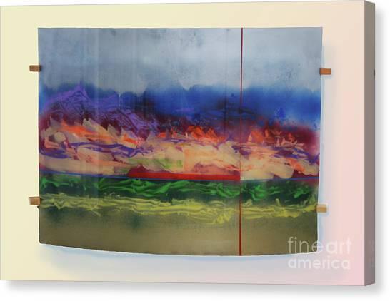 Mountain Crossing Canvas Print
