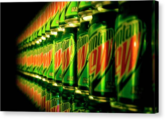 Mountain Dew Canvas Print - Mountain Dew by Mery Moon