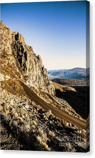 Rural Canvas Print - Mountain Drive by Jorgo Photography - Wall Art Gallery