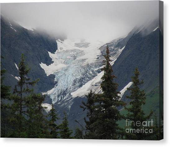 Mountain Glacier Canvas Print