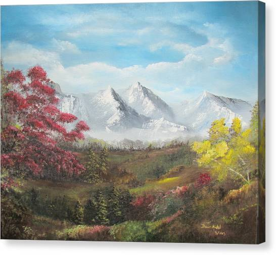 Mountain High Canvas Print