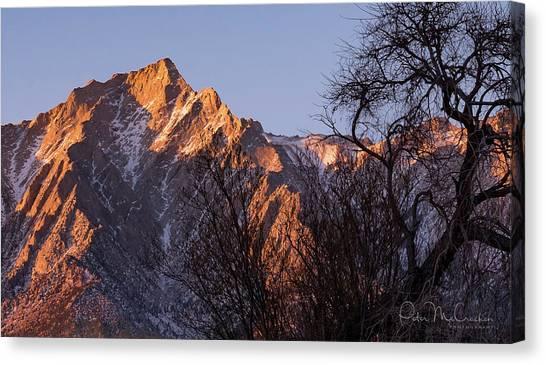 Mountain High Canvas Print by Peter McCracken